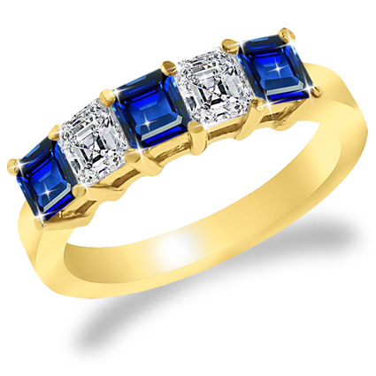 stunning co centred ltd cut asscher info jewellers sapphire hancocks acatalog and diamond a platinum on ring