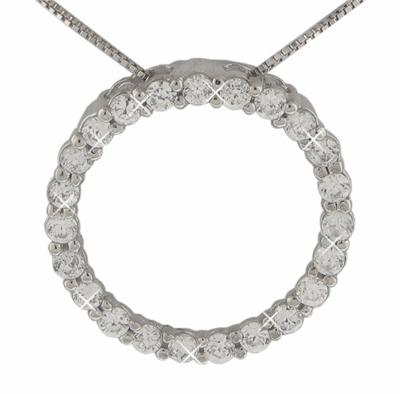 Dp 006ma 125 ct round diamond circle love pendant with 18 125 ct round diamond circle love pendant in 14 kt with 16 aloadofball Choice Image