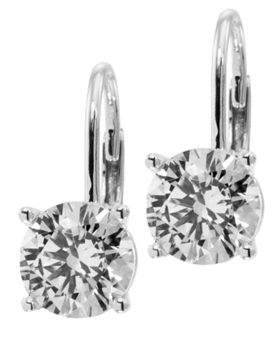 earrings de big tw fashion stud in back round drop mounts kt french ct diamond