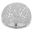 5.00 CT TW Micro Pave Round Diamond Anniversary Band