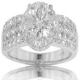 1.80 CT TW Round Cut Diamond Engagement Ring